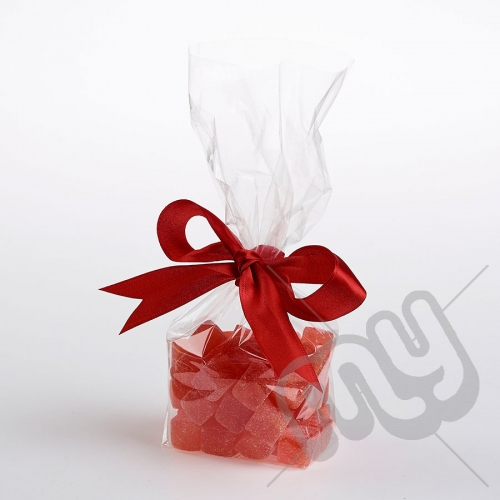 Clear Block Bottom Cellophane Bags - 95x165mm x 100pcs