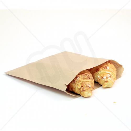 7 x 7 Brown Kraft Paper Bags x 1000pcs