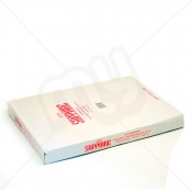 White HDPE Butcher Counter Bags with Lip - 12 x 15