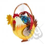 Yellow Cockerill Felt Bag / Basket