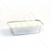 Aluminium Foil Container With Lid - LARGE x 500pcs