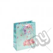 Summery Bird Cage Gift Bag - Medium x 1pc