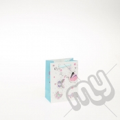Butterfly Design Luxury Gift Bag - Small x 1pc