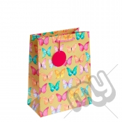 Funky Butterfly Printed Gift Bag - Large x 1pc