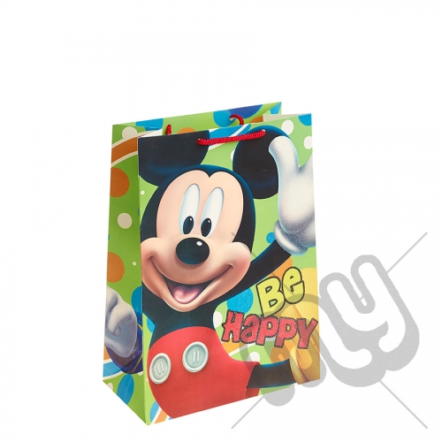 Mickey Mouse Gift Bag - Large x 1pc