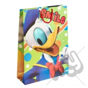 Smile Donald Duck Gift Bag - Extra Large x 1pc