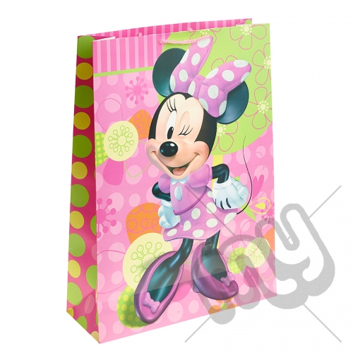 Minnie Mouse Gift Bag - Extra Large x 1pc