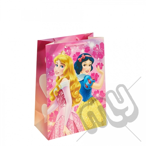 Sleeping Beauty & Snow White Gift Bag - Large x 1pc