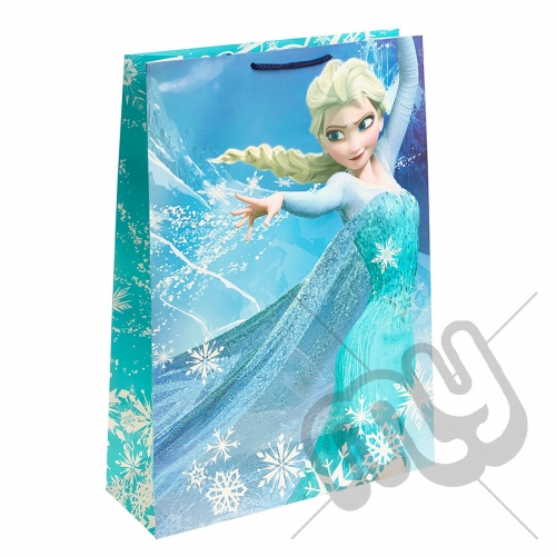 Queen Elsa & Ice Portrait Gift Bag - Extra Large x 1pc