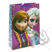 Queen Elsa & Princess Anna Gift Bag - Extra Large x 1pc