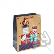 ' Just For You ' Gift Bag with Foil Detail - Large x 1pc