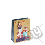 ' Just For You ' Gift Bag with Foil Detail - Medium x 1pc