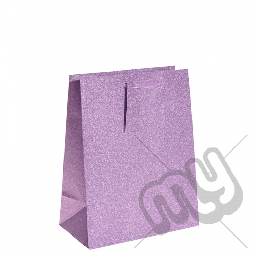 Pink / Purple Glitter Gift Bag - Large x 1pc