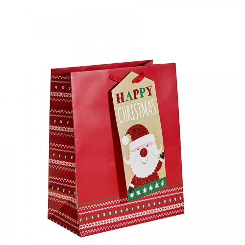 Happy Christmas from Santa Christmas Gift Bag – Large x 1pc