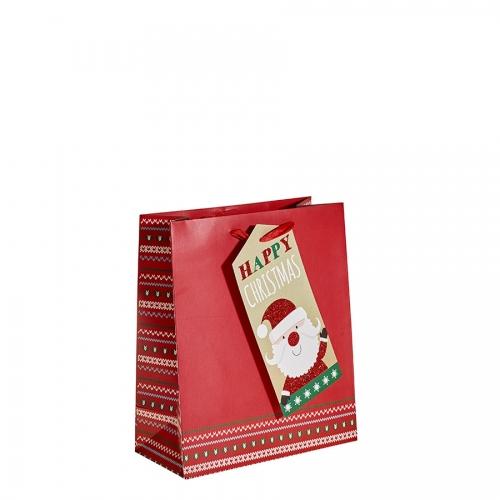 Happy Christmas from Santa Christmas Gift Bag – Medium x 1pc