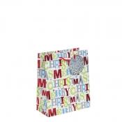 Merry Christmas Gift Bag – Medium x 1pc