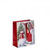 The Welcoming Snowman Christmas Gift Bag – Medium