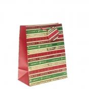 Season's Greetings Christmas Gift Bag – Large x 1pc