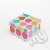 Multicoloured Spotted Luxury Gift Box - SIZE 5