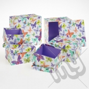 Butterfly Luxury Gift Boxes - Set of 6