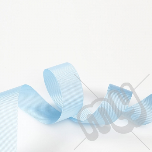 Sky Blue Grosgrain Ribbon 10mm x 20 metres
