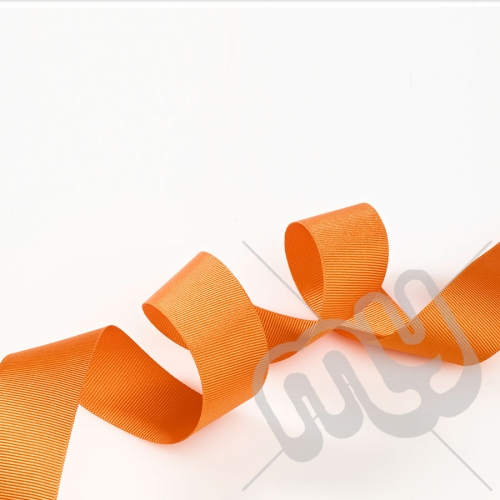 Orange Grosgrain Ribbon 15mm x 20 metres