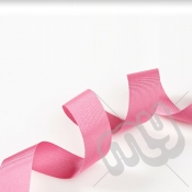 Fuschia Pink Grosgrain Ribbon 25mm x 20 metres