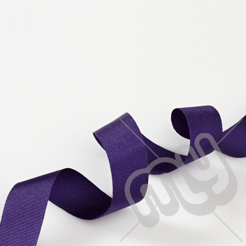 Purple Grosgrain Ribbon 25mm x 20 metres