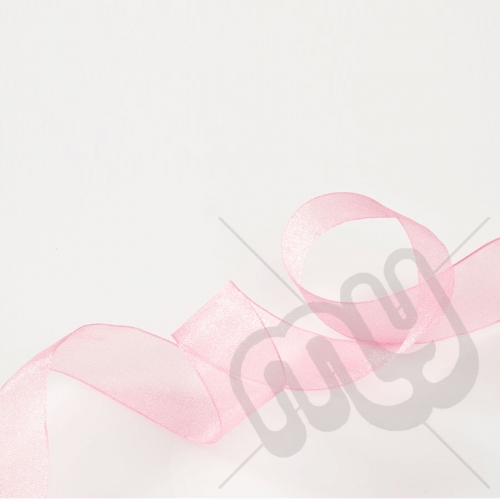 Pink Organza Ribbon 15mm x 25 metres