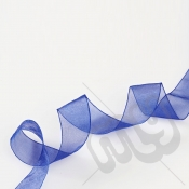 Royal Blue Organza Ribbon 15mm x 25 metres