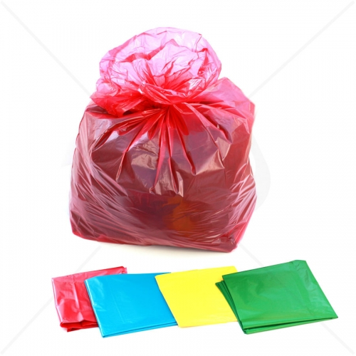Premium Coloured Refuse Sacks - Heavy Duty x 200pcs