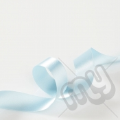 Sky Blue Double Satin Ribbon 25mm x 20 metres