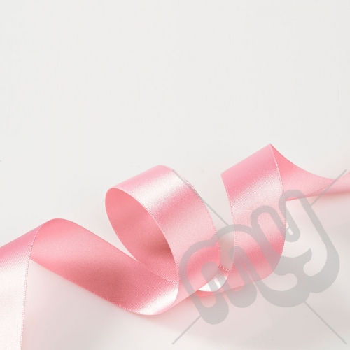 Light Pink Double Satin Ribbon 25mm x 20 metres