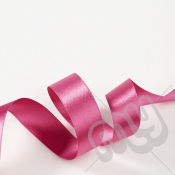Fuschia Pink Double Satin Ribbon 15mm x 20 metres