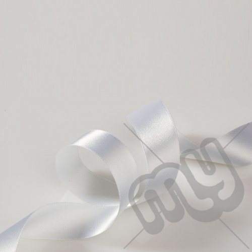 White Double Satin Ribbon 5mm x 20 metres