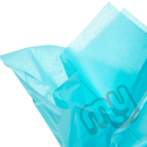 Turquoise Blue Tissue Paper - 6 Sheets