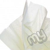 Ivory Tissue Paper - 6 Sheets