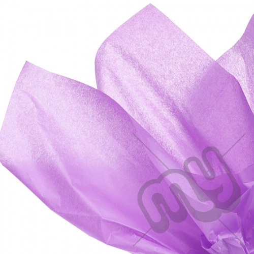Pastel / Light Purple Tissue Paper - 6 Sheets