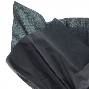 Black Tissue Paper - 6 Sheets