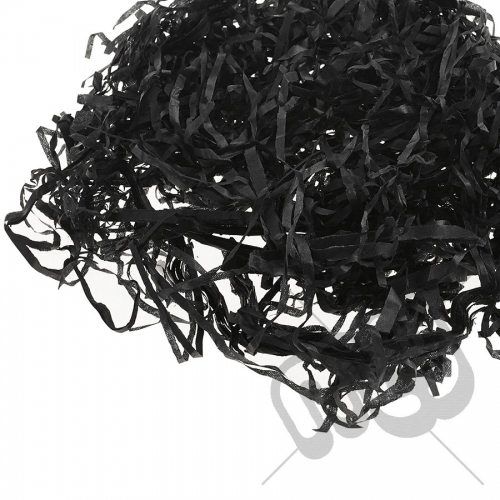 Black Shredded Tissue Paper - 42 Grams