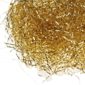 Gold ZigZag Foil Shredded Tissue Paper - 28 Grams